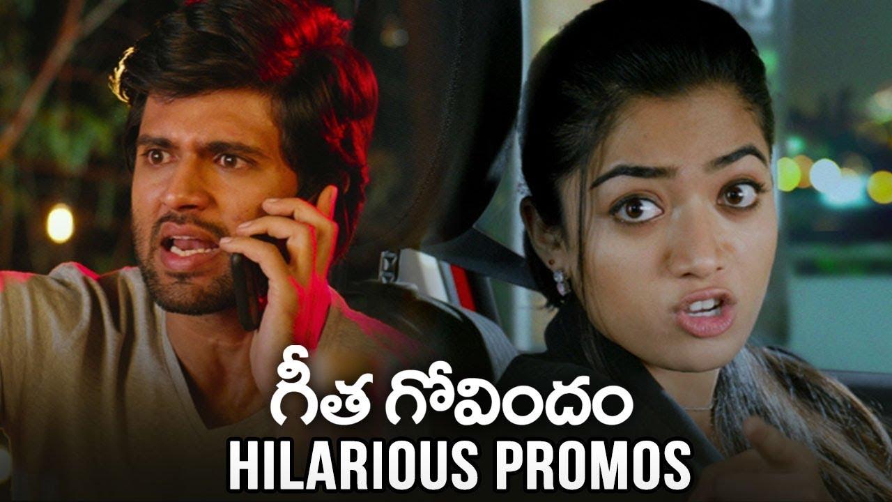 Geetha Govindam Hilarious Comedy Promos | Vijay Devarakonda | Rashmika | TFPC