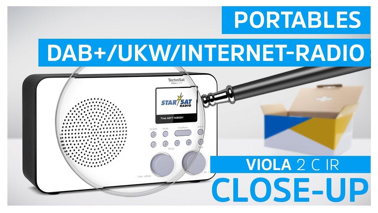 Video: VIOLA 2 C IR | Portables DAB+/UKW/Internet-Radio mit WLAN und Farbdisplay | TechniSat