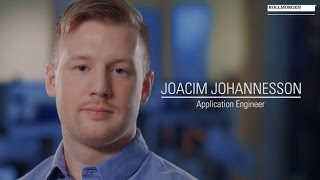 Our people: Joacim – Application Engineer
