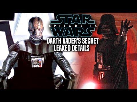 Episode 9 Darth Vader&39;s Important Secret Revealed Star Wars News Leaked Details