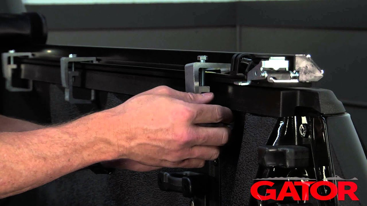 How To Install Gator Sr1 Roll Up Tonneau Cover At