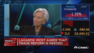 The rules of trade need to be revised, says IMF director Lagarde