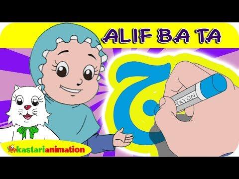 Huruf Hijaiyah Jim   Mengaji Bersama Diva   Kastari Animation Official
