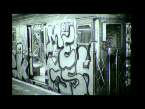 Mesh Reas Ven AOK (All Out Kings) Graffiti : Super Rare 80's Subway Bombing Video