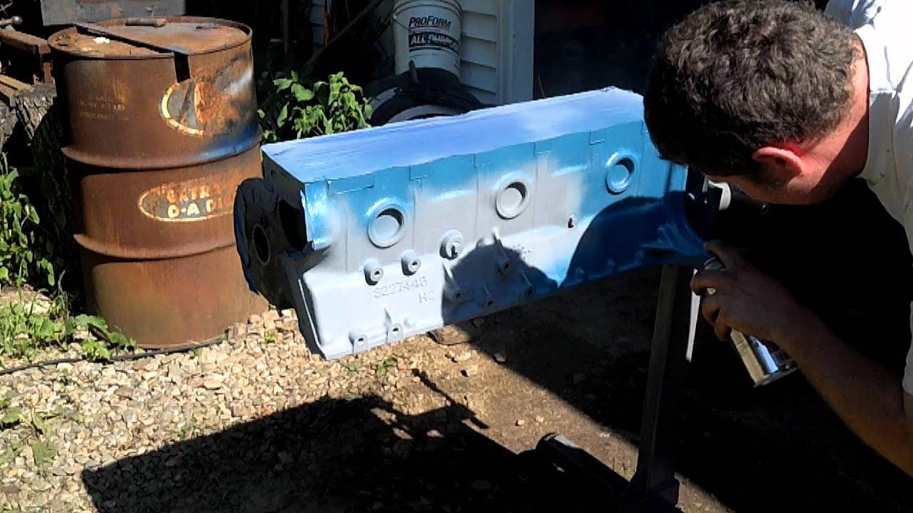 Dupli-Color ceramic engine paint - YouTube
