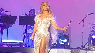 2018, Oct 11: Beyoncé performing XO, Perfect, Ave Maria and Halo at...