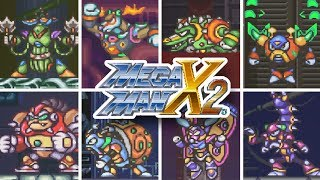 Mega Man X2 - All Bosses (Mega Man X Legacy Collection 1 + 2)