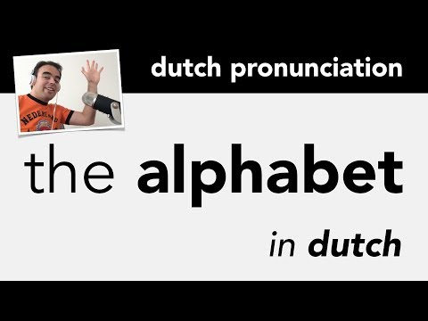 Learn Dutch Alphabet + Pronunciation