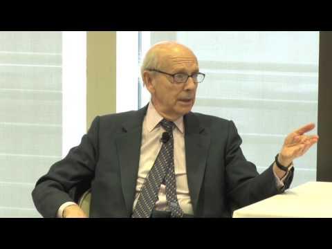 A Conversation with Supreme Court Justice Stephen Breyer