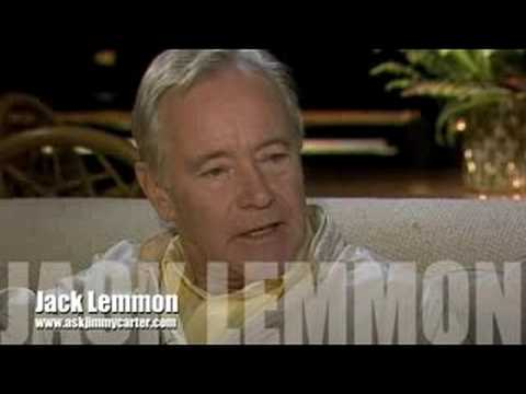 Jack Lemmon interview with Jimmy Carter