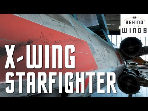 X Wing And Podracer Behind The Wings Youtube