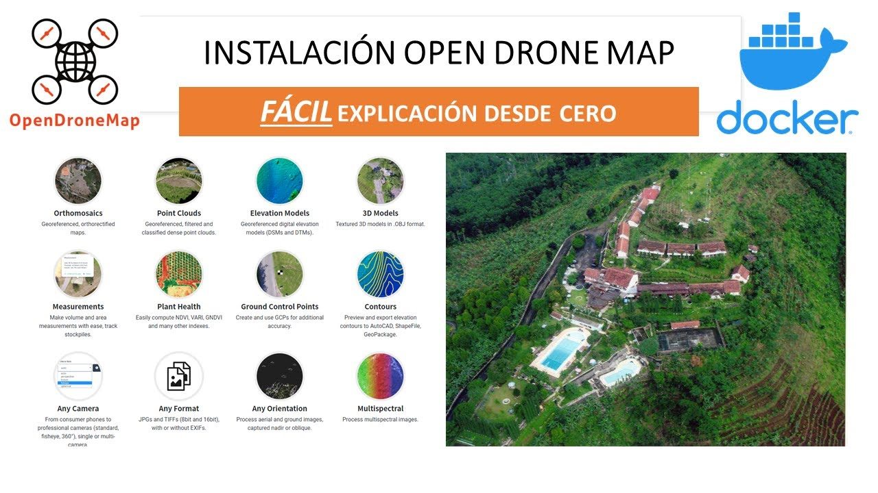 Instalación Open Drone Map ( Fácil ) explicado desde cero.