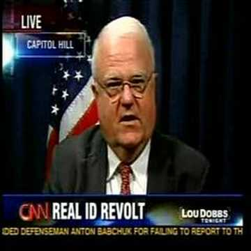 Demonic Creator of the REAL ID ACT Defends His Creation