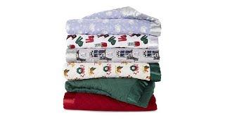Jeffrey Banks Down Alternative Holiday Blanket with Sati...