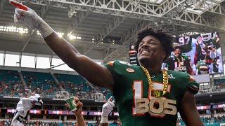 The Unblockble Force || Miami DE Gregory Rousseau 2019 Highlights