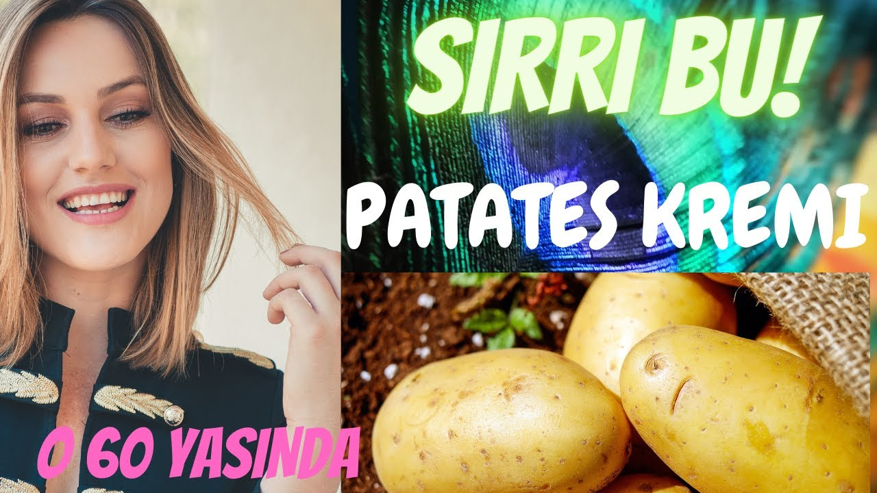 Öyle Bir Krem En Pahalı Kremlere Eş Değer Portakal Serumu 20 Yaş Gençleştiren Patates ANTIAGING KREM