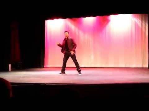 Enrique Torres @ Renaissance High School for the Arts Talent Show 2014