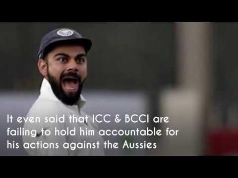 Is Virat Kohli the new punching bag for Australia?