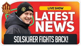 Solskjaer Here To Stay? Man Utd News Now