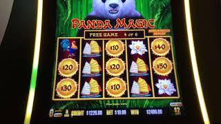 DRAGON LINK ~ PANDA MAGIC ~ MASSIVE HANDPAY ~ $10 SPINS ONLY