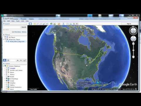 KML gneration from field data