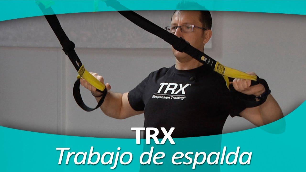 TRX 8. Trabajo de espalda - YouTube