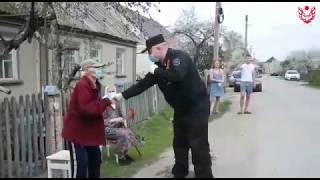 Поздравление ветеранов ВОВ в районе Свободный Сокол, г.Липецк