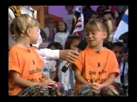 "Xuxa - ""Olsen Twins first appearance"" episode - YouTube"