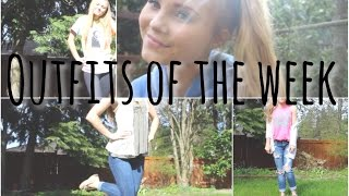 OOTW ♡ | t-shirts, comfy shoes & jeans?!