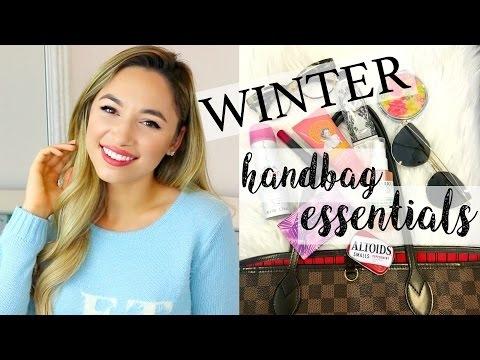 WINTER HANDBAG ESSENTIALS | ALEXANDRA BEUTER