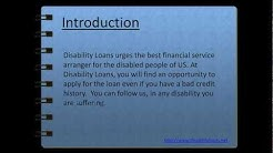 Disability Loans-- Same Day Loans For Disabled- Loans For People On DSS Benefits