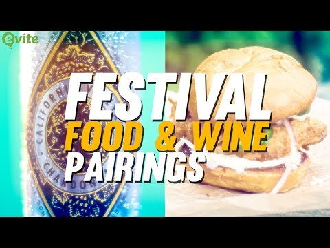Music Festival Food & Wine Pairings 🍷🍤 | Evite Recipes