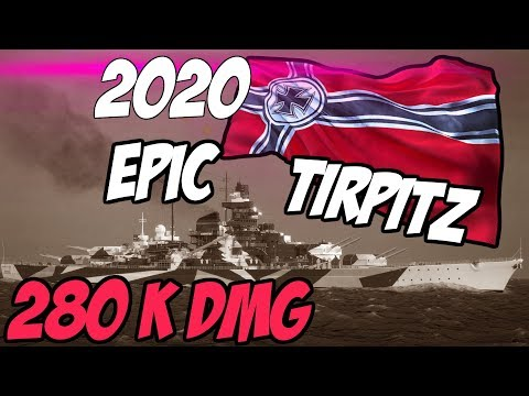 Tirpitz - One Of The Best Premiums For 2020 !! WOWS