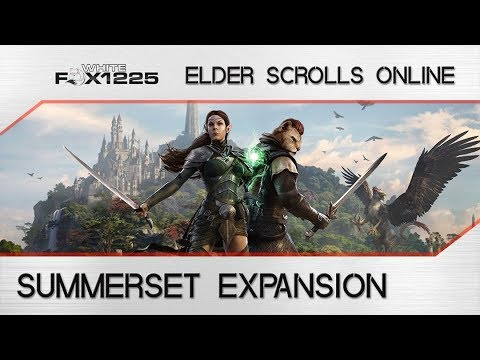 ESO: Summerset Expansion Details! New Zone, Skill Line, Trial and more! |