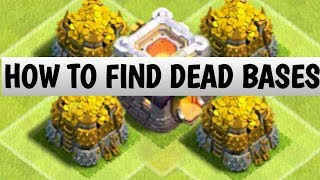 Clash of Clans |How to find dead bases on every click| PART2 in Clash of Clans