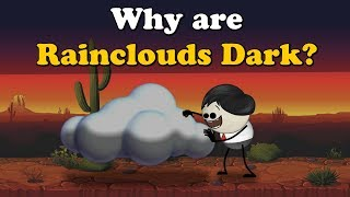 Why are Rainclouds Dark? | #aumsum #kids #science