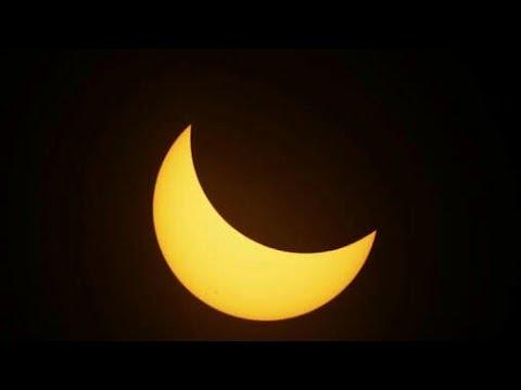 Eclipse solar 2017 visto en Guadalajara