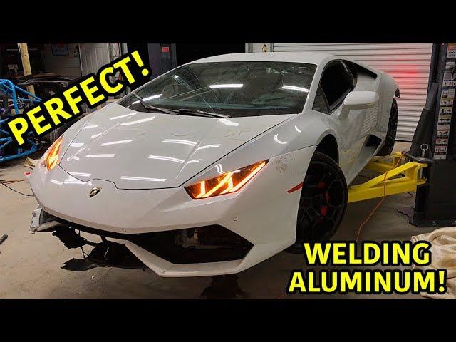 Wiederaufbau eines zerstörten Lamborghini Huracan Part 10 + video