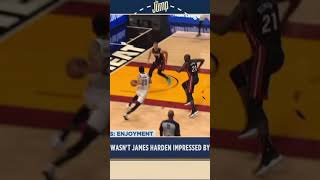 The Jump reacts to James Harden's lack of a reaction on Shamet's dunk😂#Shorts