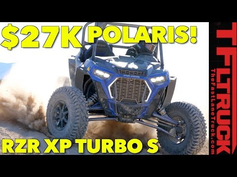 Even More Speed with Bigger Tires: 2018 Polaris RZR Turbo S Off-Road Review!