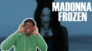 My First Time Listening To Madonna - Frozen (REACTION!!!)