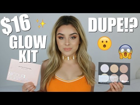 ABH NICOLE GUERRIERO GLOW KIT DUPE!! | Aidette Cancino thumbnail