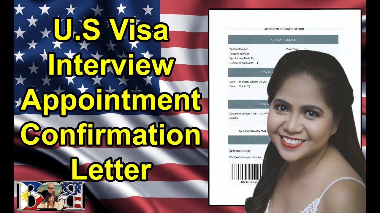 k1 visa us embassy interview appointment confirmation letter