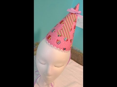 DIY Birthday Party Hat Tutorial