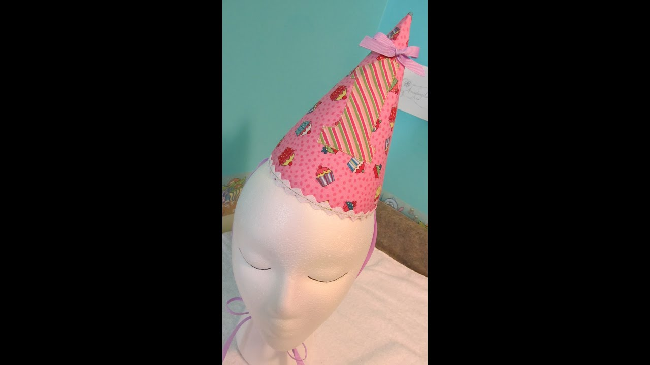 diy birthday party hat tutorial youtube
