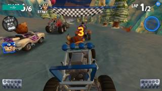 How to do jump start Beach Buggy Racing