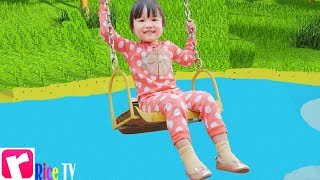 Yes Yes Playground Song | Baby Nursery Rhymes & Kids Songs - Rice TV
