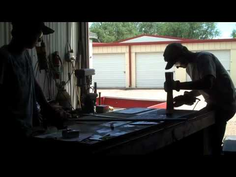 Home Welding Projects For Beginners: How to Make a Teachers Podium
