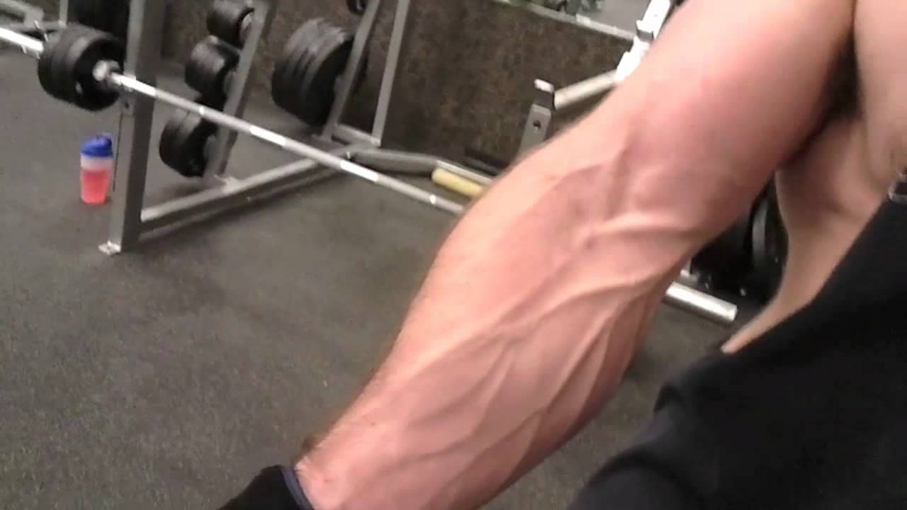 Massive Forearm Muscle Pump And Flex Youtube