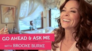 Brooke Burke Talks About What Turns Her On - Go Ahead and Ask Me